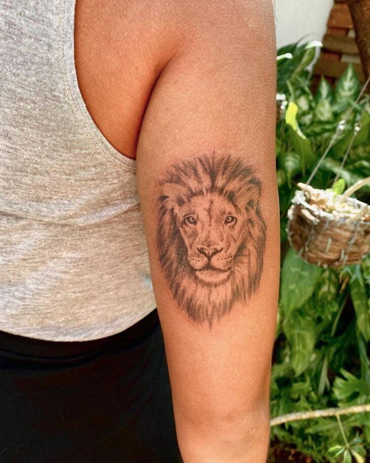 tatuagem de leão 46