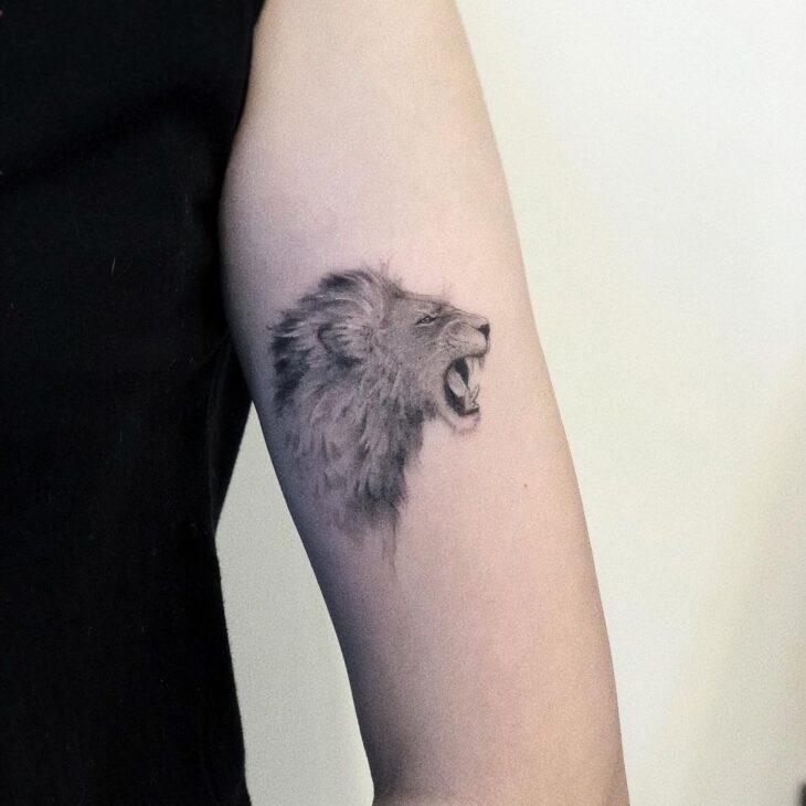 tatuagem de leão 47