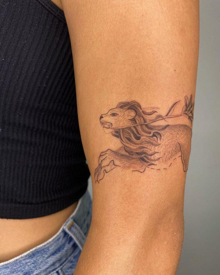 tatuagem de leão 48