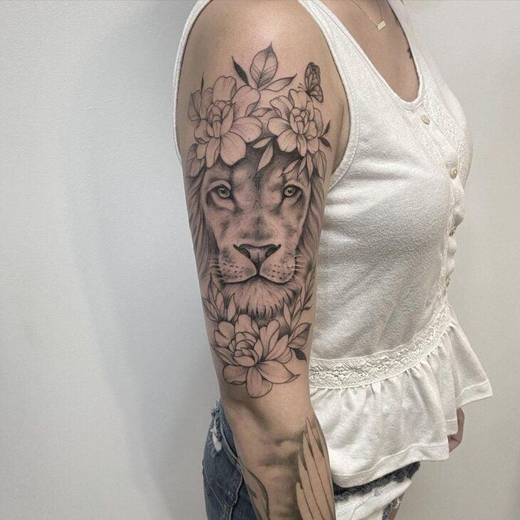 tatuagem de leão 50