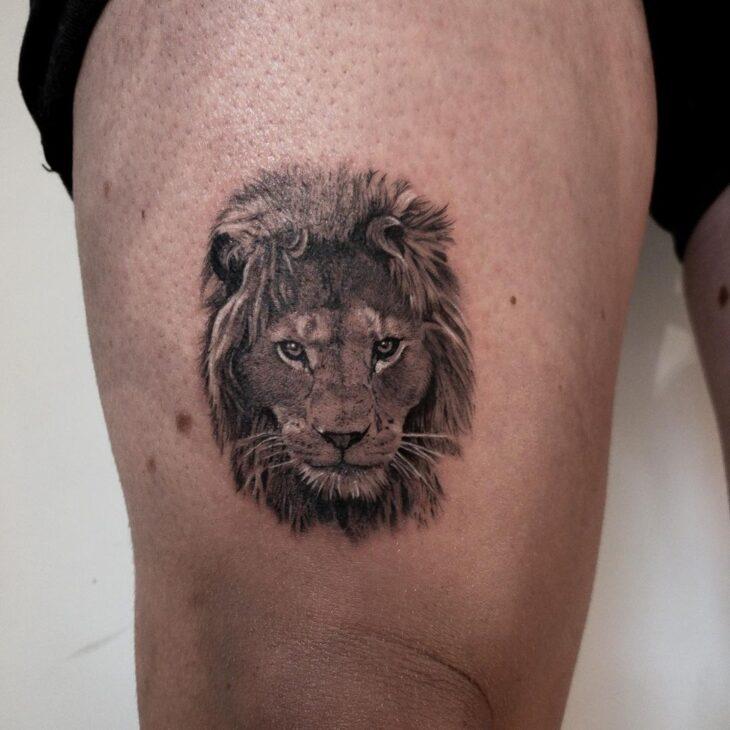 tatuagem de leão 51