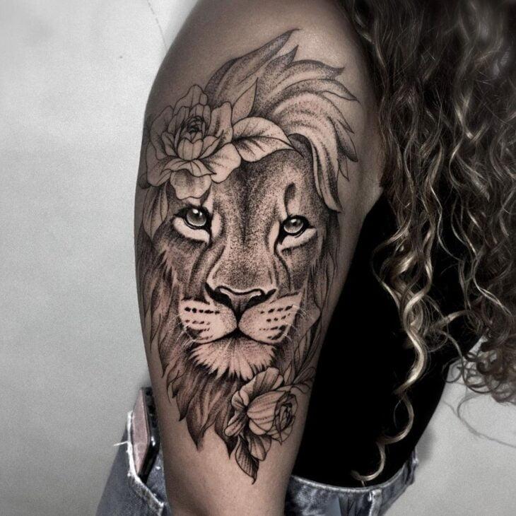 tatuagem de leão 52
