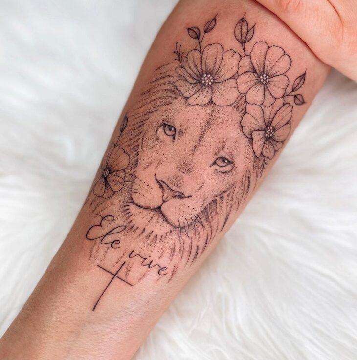 tatuagem de leão 58