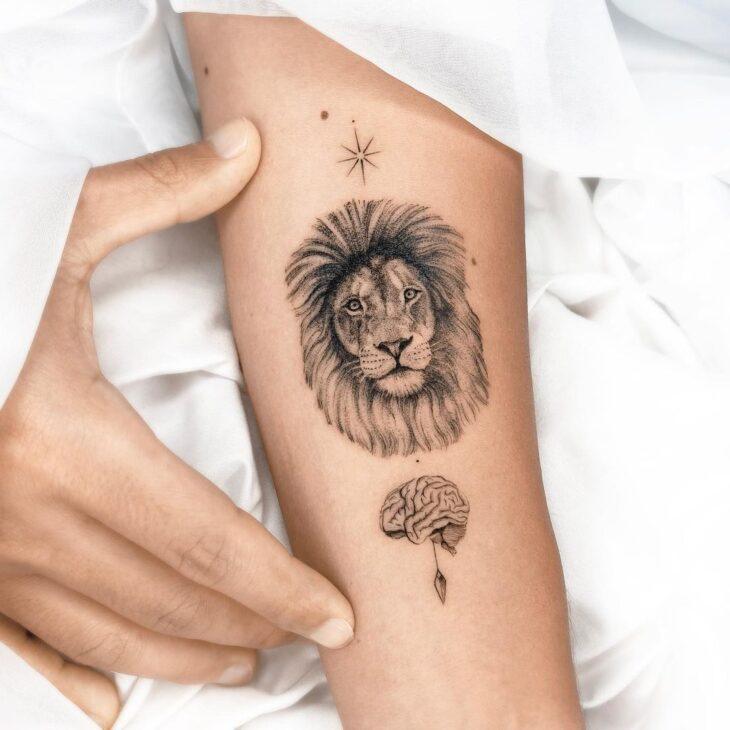 tatuagem de leão 6