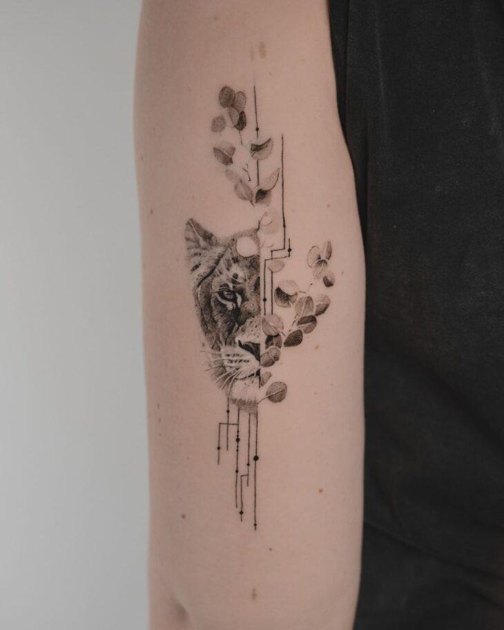 tatuagem de leão 62