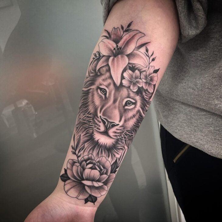 tatuagem de leão 63