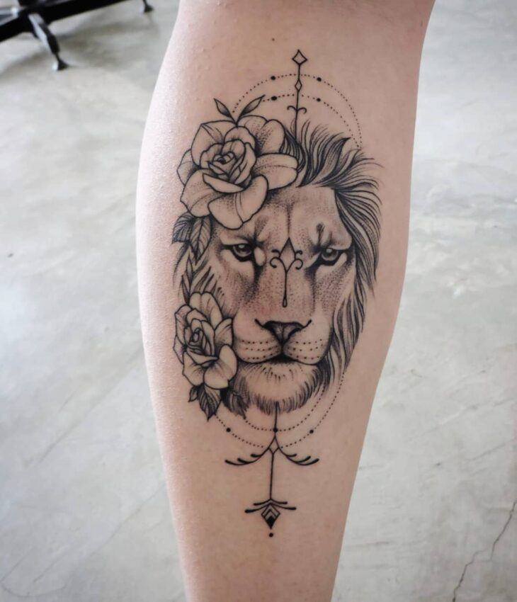 tatuagem de leão 67