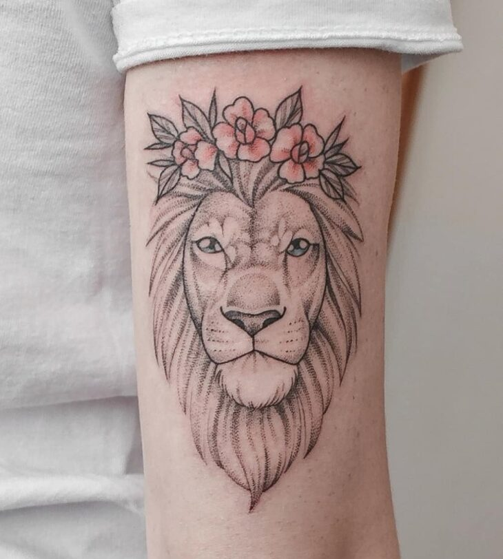 tatuagem de leão 7