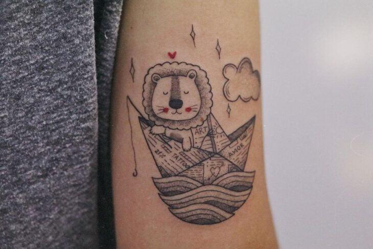 tatuagem de leão 72