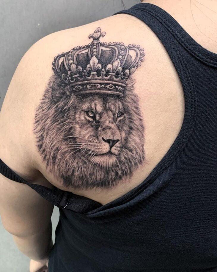 tatuagem de leão 75