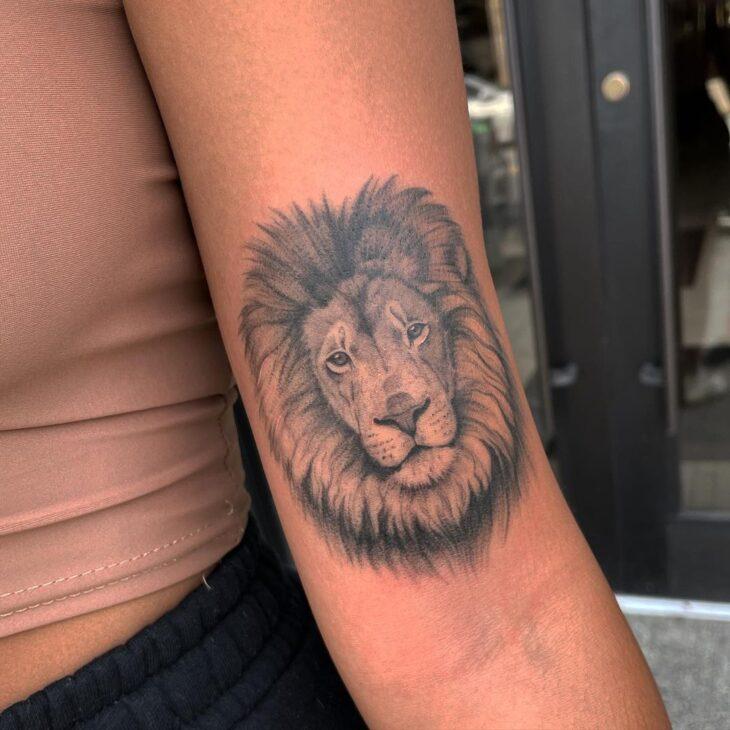 tatuagem de leão 76