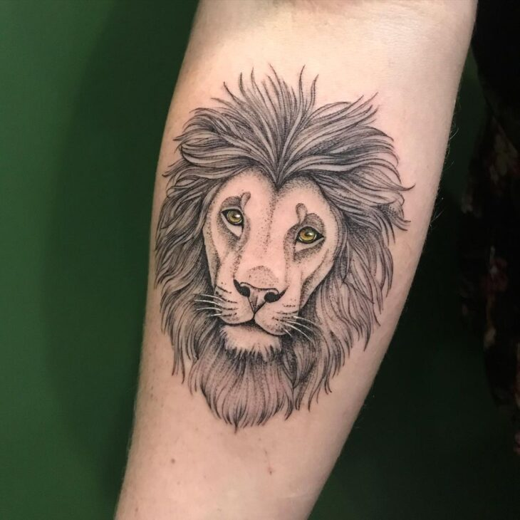 tatuagem de leão 8