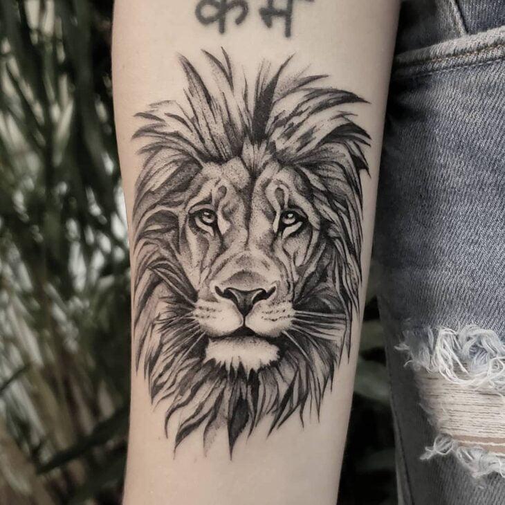tatuagem de leão 84