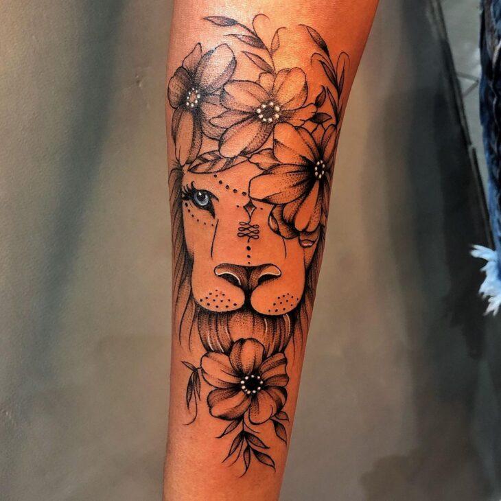 tatuagem de leão 89