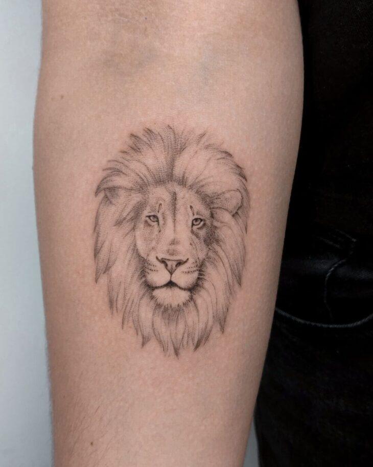 tatuagem de leão 9
