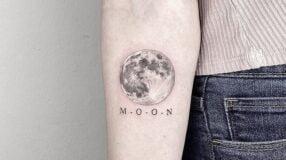 70 ideias de tatuagem de lua repletas de significados místicos