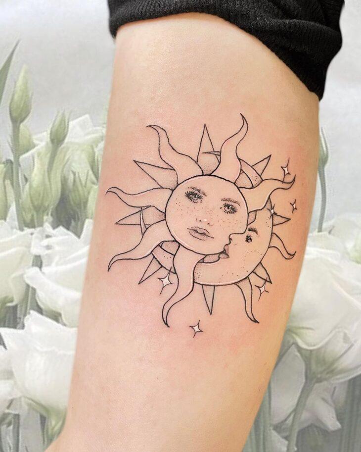 tatuagem de lua 16
