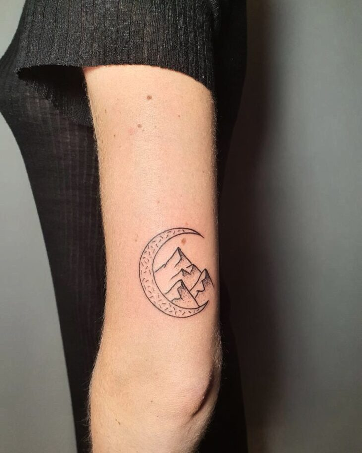 tatuagem de lua 17