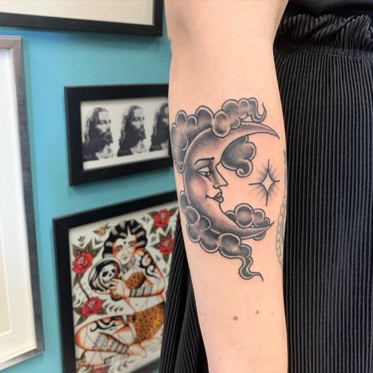 tatuagem de lua 29