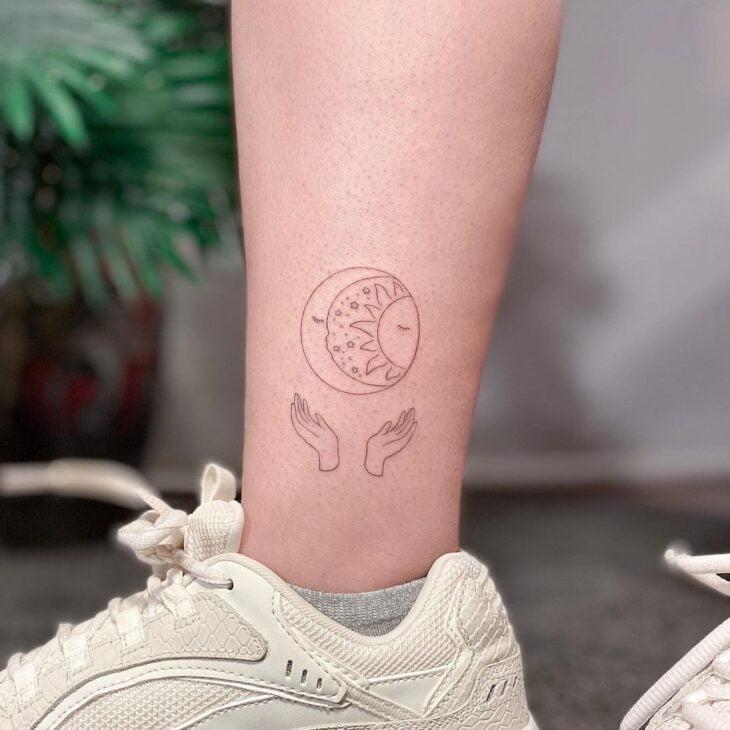 tatuagem de lua 35