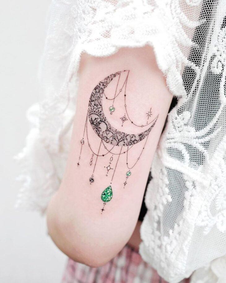 tatuagem de lua 38