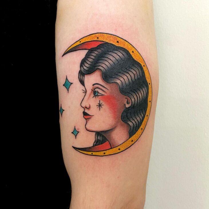 tatuagem de lua 44