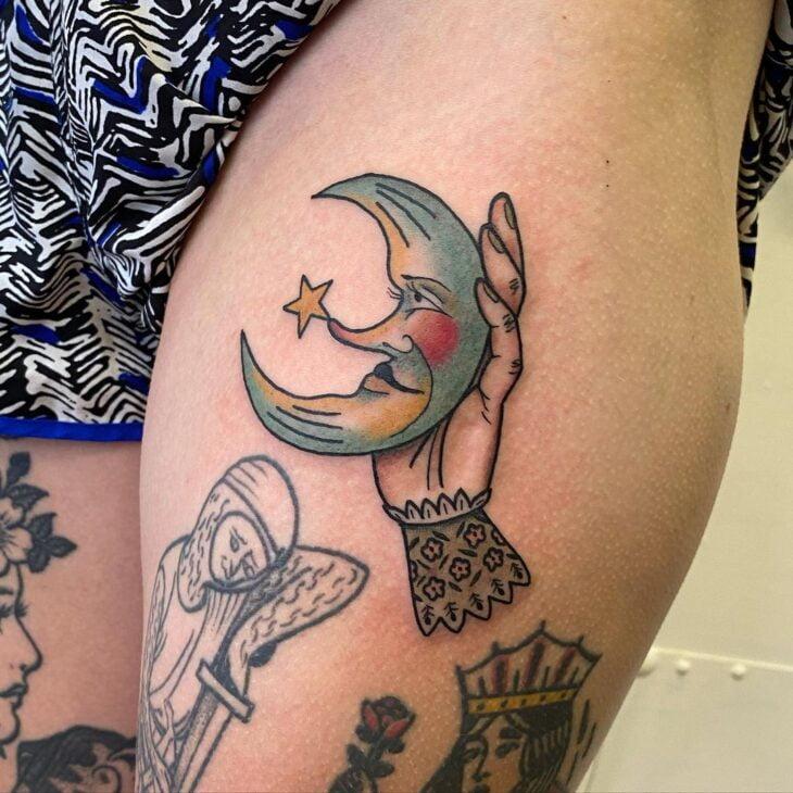 tatuagem de lua 47