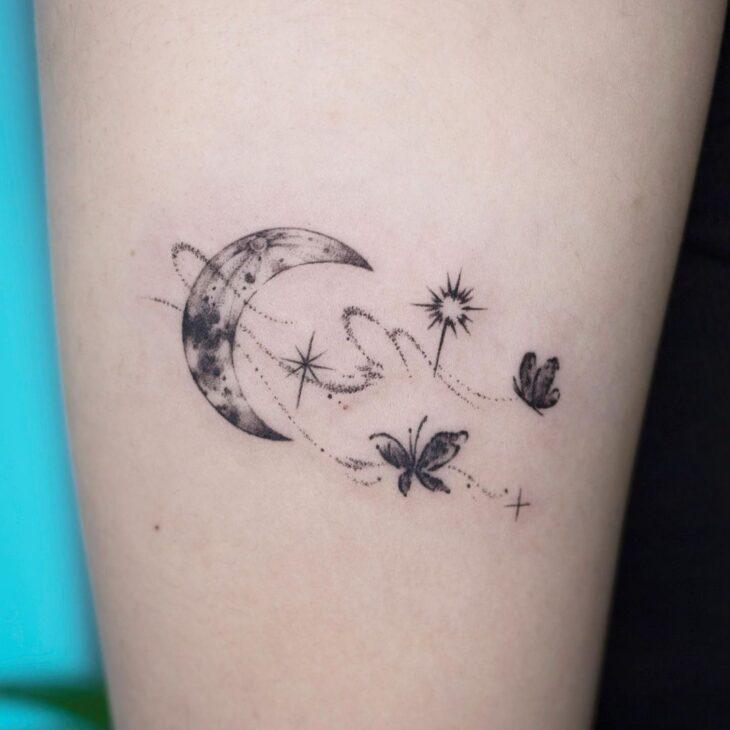 tatuagem de lua 62