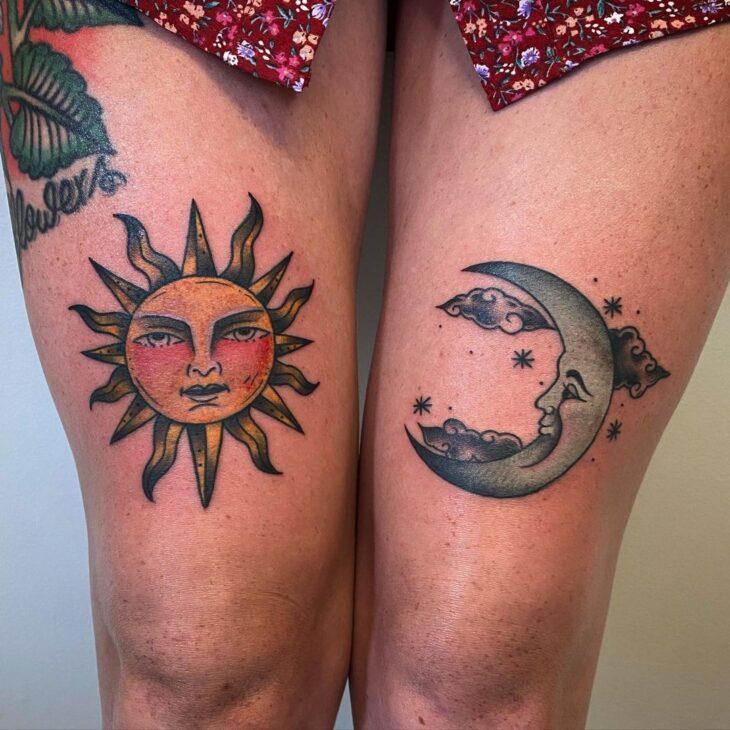 tatuagem de lua 64