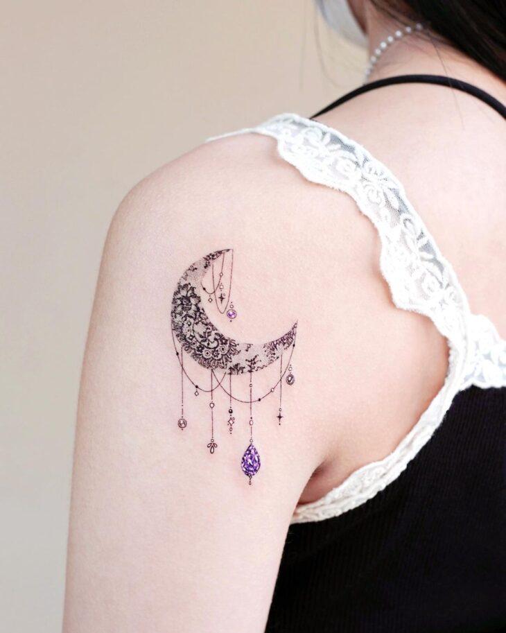 tatuagem de lua 66