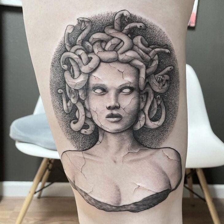 tatuagem de medusa 11