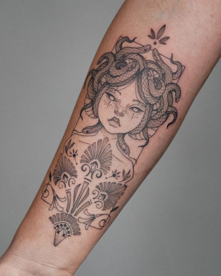 tatuagem de medusa 14