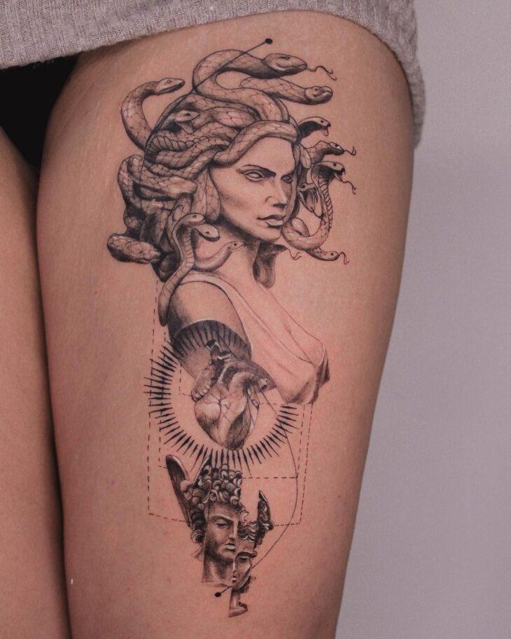 tatuagem de medusa 16