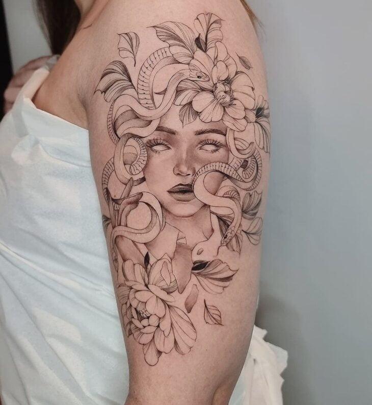 tatuagem de medusa 17