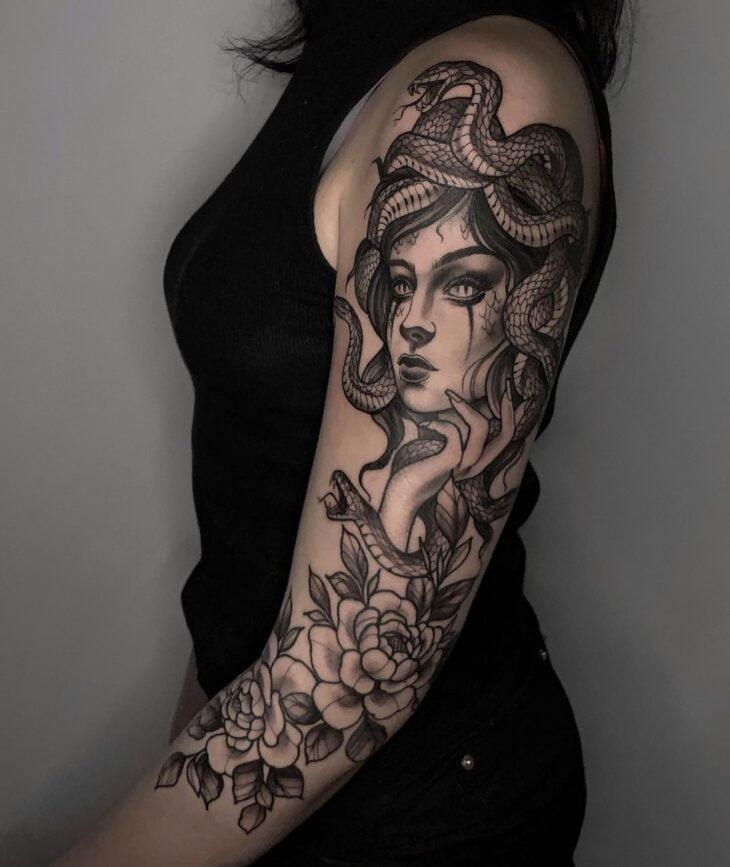 tatuagem de medusa 18