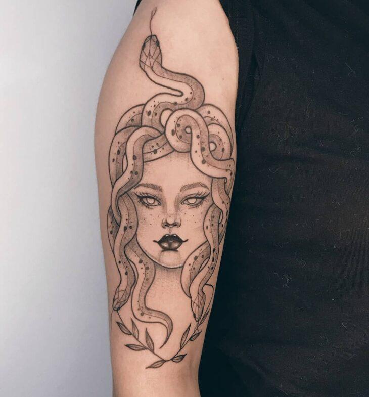 tatuagem de medusa 2