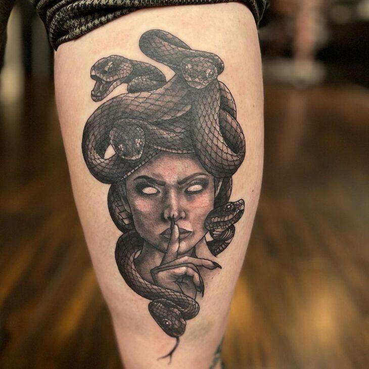 tatuagem de medusa 22