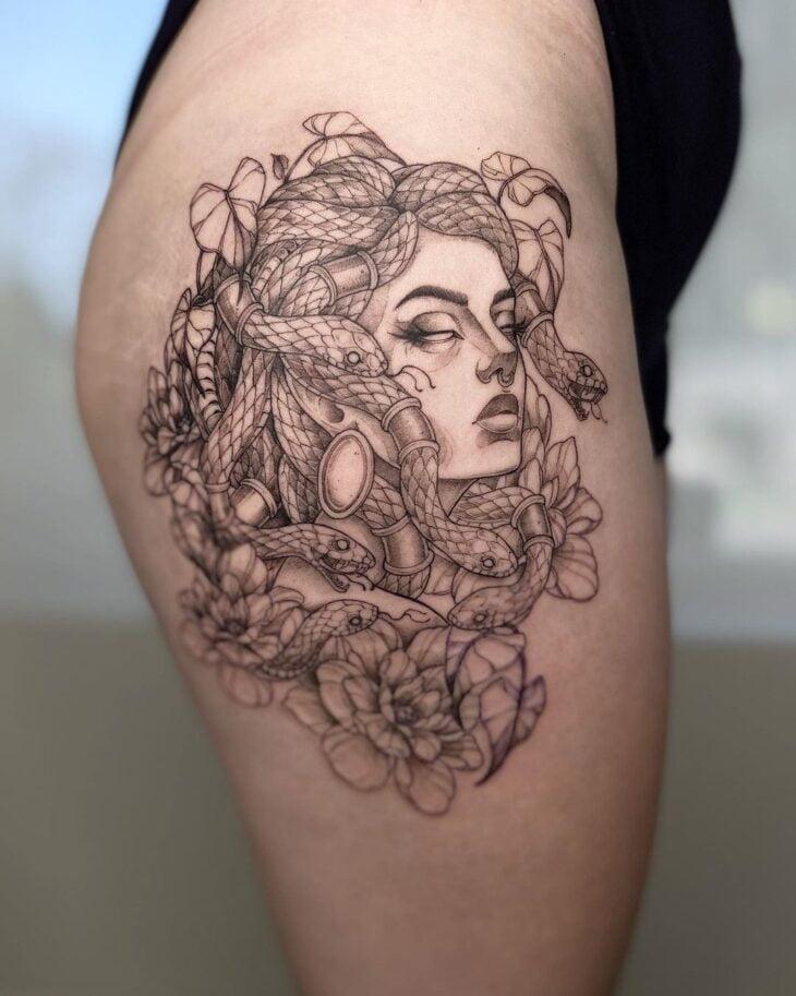 tatuagem de medusa 23