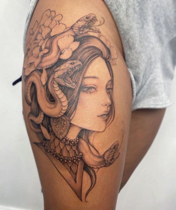 tatuagem de medusa 24