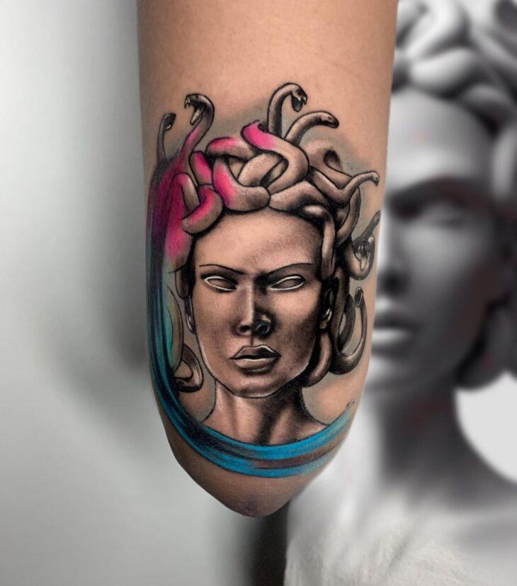 tatuagem de medusa 26