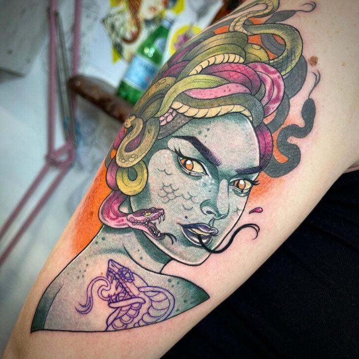 tatuagem de medusa 27