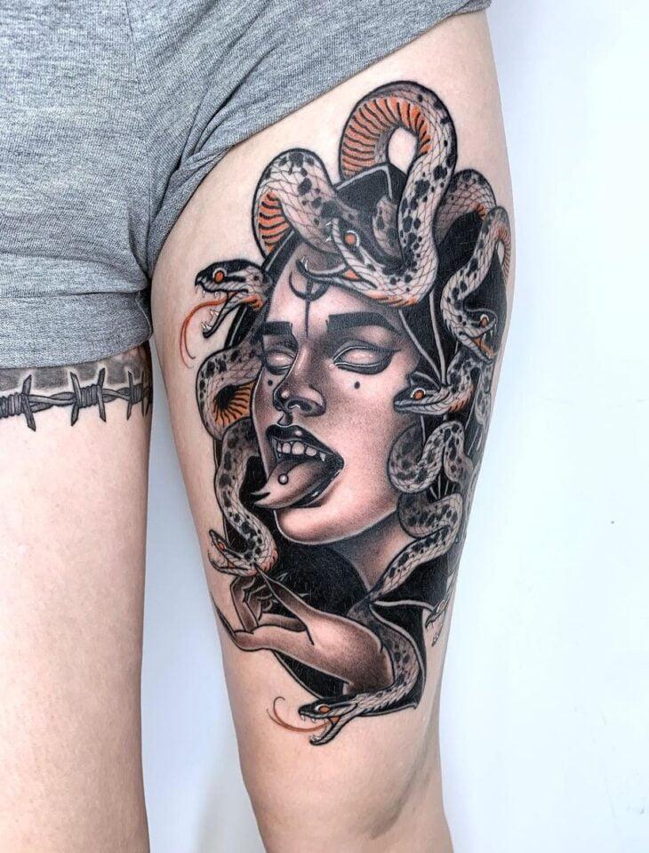 tatuagem de medusa 30