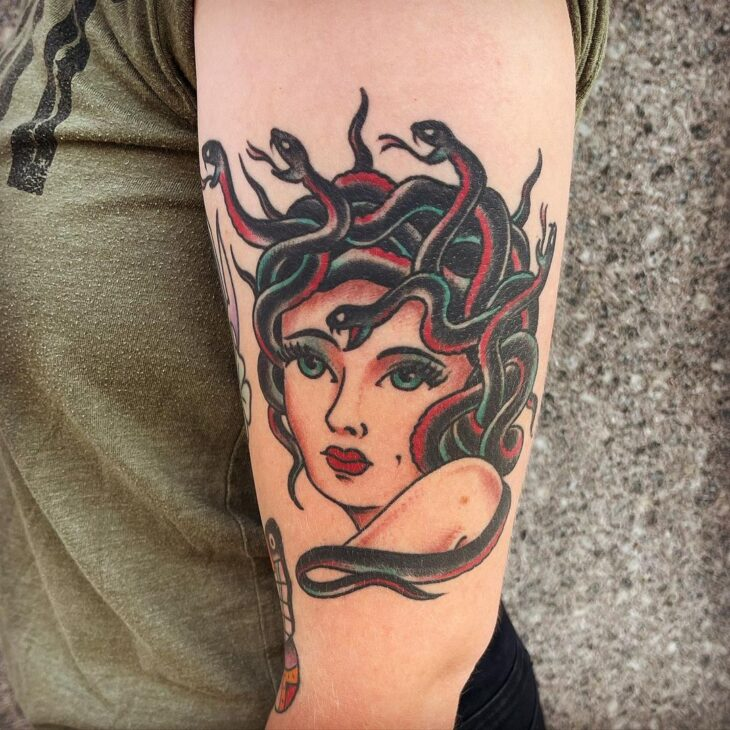 tatuagem de medusa 31