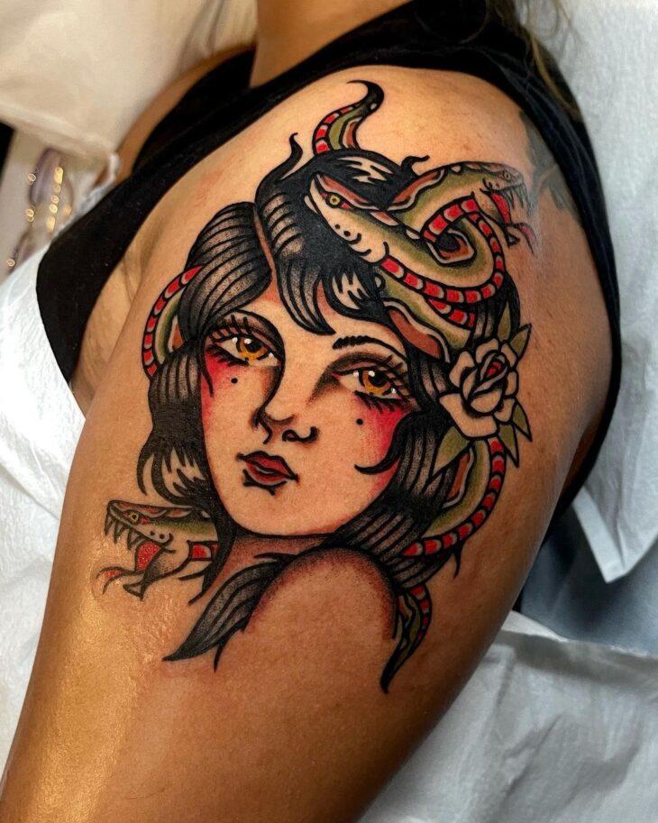 tatuagem de medusa 33