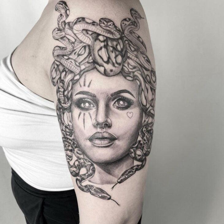 tatuagem de medusa 35