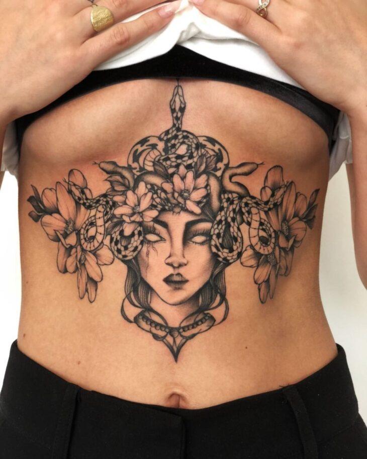 tatuagem de medusa 37