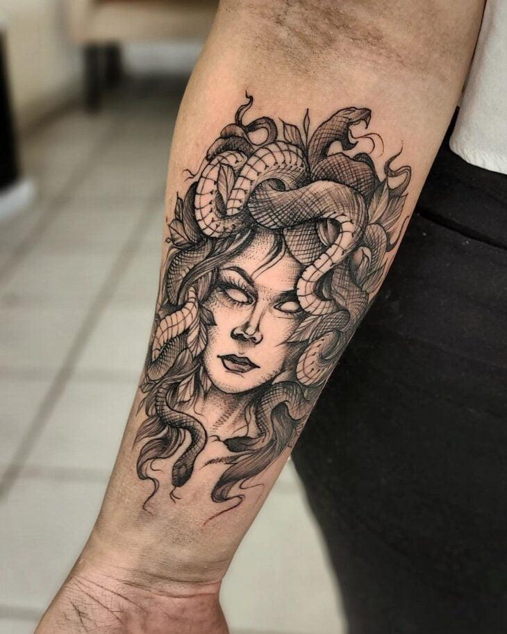 tatuagem de medusa 39