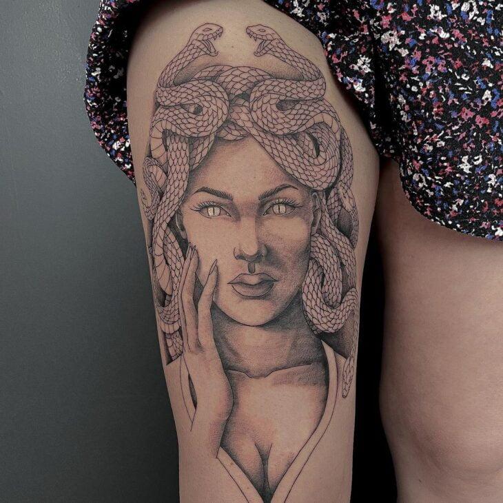 tatuagem de medusa 4