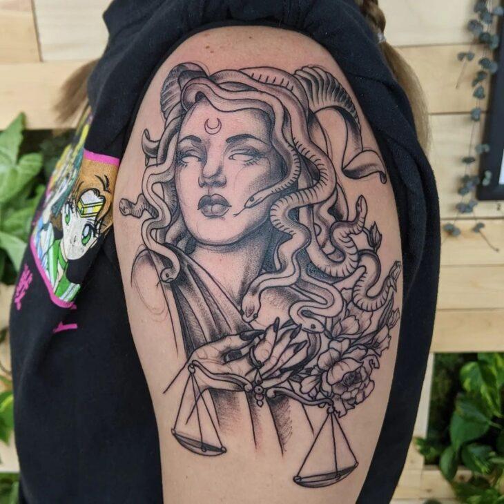 tatuagem de medusa 40