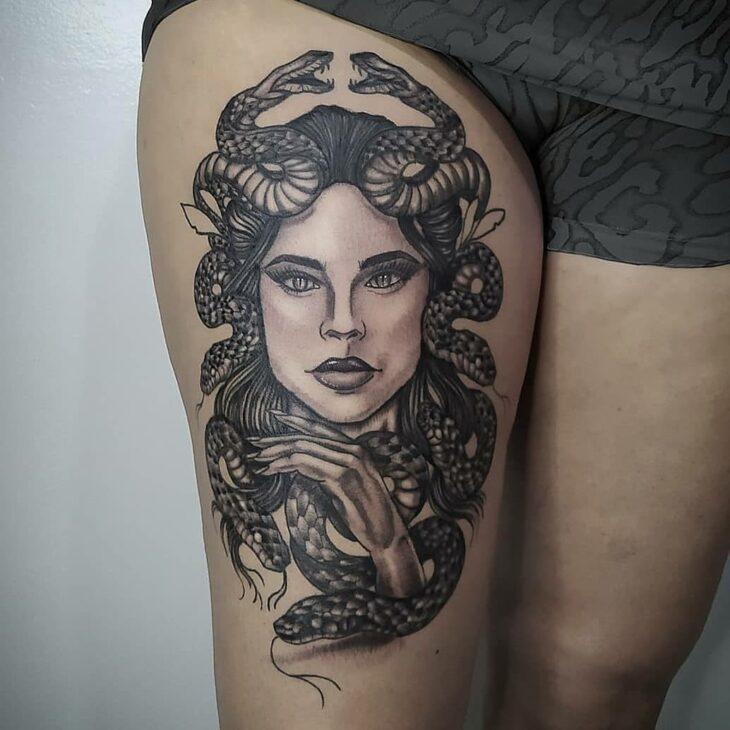 tatuagem de medusa 41